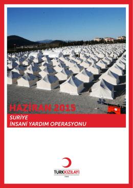 Suriye Krizi İnsani Yardım Operasyonu