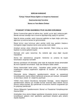 SERCAN KARADAĞ Türkiye Yüksek İhtisas Eğitim ve Araştırma