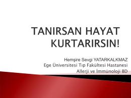 TANIRSAN HAYAT KURTARIRSIN!