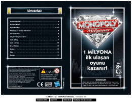 OYUNLAR - Monopoly Milyoner Instructions