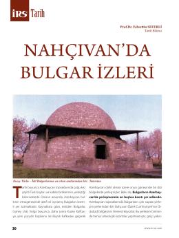 NahçıvaN`da Bulgar İzlerİ