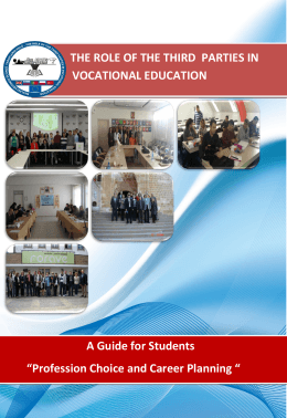 "A Guide for Enterprises ""How can Enterprises support Vocational"