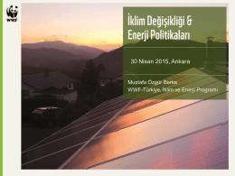 Mustafa Özgür Berke, WWF-Türkiye (Doğal Hayatı Koruma Vakfı)