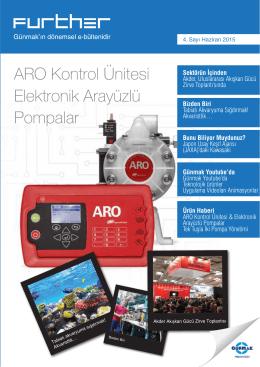 ARO Kontrol Ünitesi Elektronik Arayüzlü Pompalar