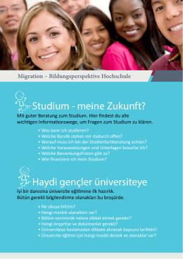 bilingualen Informationsbroschüre