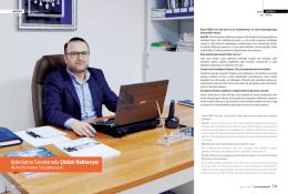 Sektörüm Dergisi İle Röportaj