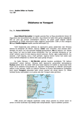 87- Oklahoma ve Yonaguni