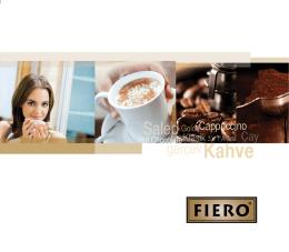 Kahve - Fiero