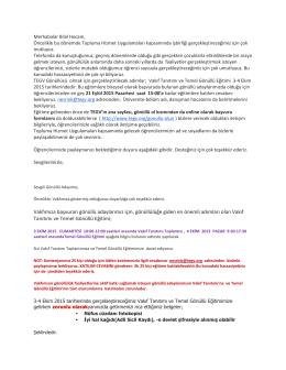TEGV (Türk Eğitim Gönüllüleri Vakfı)
