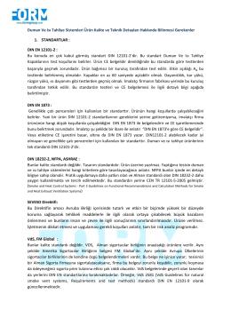 DIN EN 12101-2 standardı hakkında detaylı bilgi