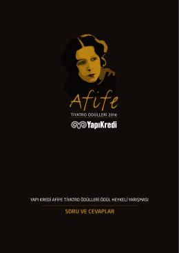 soru ve cevaplar - Afife Tiyatro Ödülleri