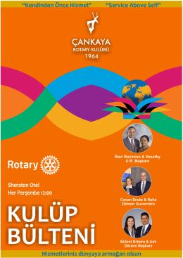 Bülten - Çankaya Rotary Kulübü
