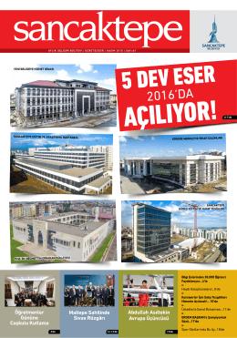 2016`DA - Sancaktepe Belediyesi