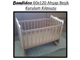 Bambidoo 60x120 Ahşap Beşik Kurulum Kılavuzu