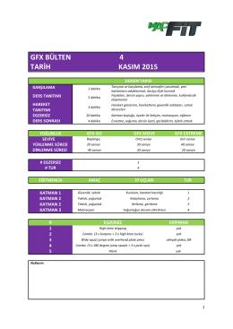 gfx bülten 4 tarih kasım 2015
