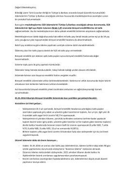 Bilindiği üzere Türk Eczacıları Birliği ile Türkiye İş Bankası arasında