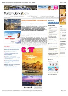 İstanbul övgü dolu sözlerle yurt dışı basınında | Turizm Güncel