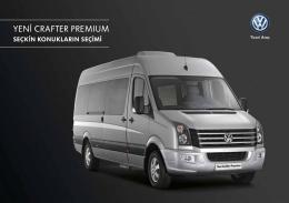 yeni crafter premıum - Volkswagen Ticari Araç