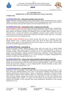 T.C. İSTANBUL BÜYÜKŞEHİR BELEDİYE BAŞKANLIĞI