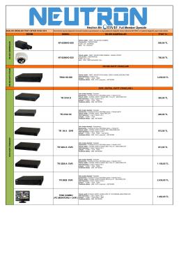 MODEL HD-SDI KAMERALAR FİYAT TL NT-6200HD-SDI