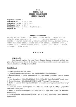 06.02.2015 meclis kararları