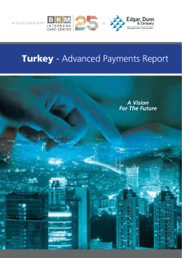 Turkey - Advanced Payments Report