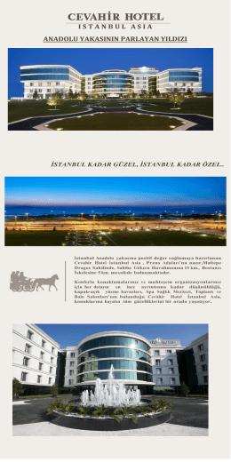 Broşür - Cevahir Hotel İstanbul Asia