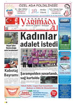 CUMA - Bodrum Yarımada Gazetesi