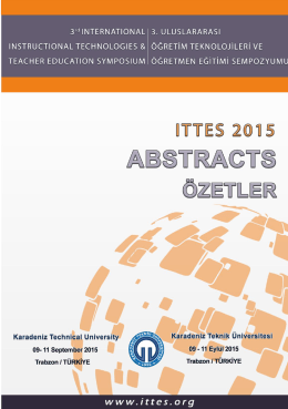 Abstracts (ITTES 2015)
