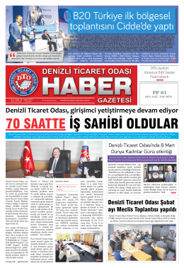 B20 Türkiye ilk bölgesel toplantısını Cidde`de yaptı