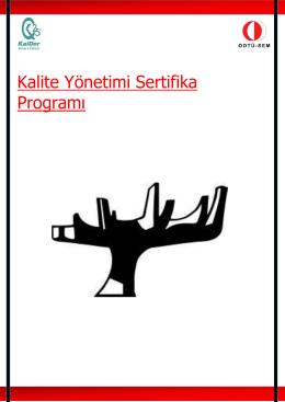 Kalite Yönetimi Sertifika Programı
