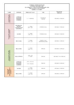 25. edb. kitap günleri eek-ortaokulları programları -2016