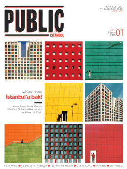 İstanbul`a bak! - The Public Hotel