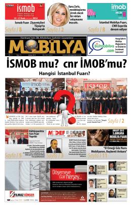 Şubat 2015 - Mobilya Gazetesi