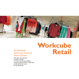 Workcube Retail Broşürü