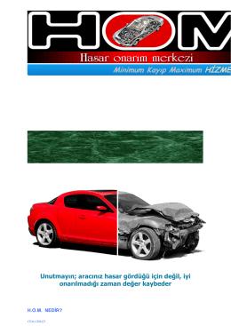Hasar Onarım Merkezi - Rem Otomotiv Yedek Parça