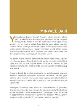 Minval 2015 Yayın Kataloğu