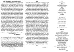 Dergimiz Yankı 8.Sayı
