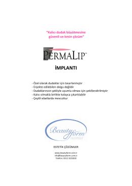İMPLANTI - Permalip