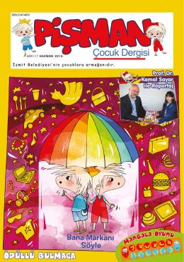 Pişman Çocuk Dergisi
