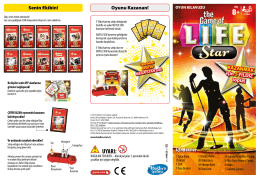 OYUNLAR - Game of Life Star Instructions
