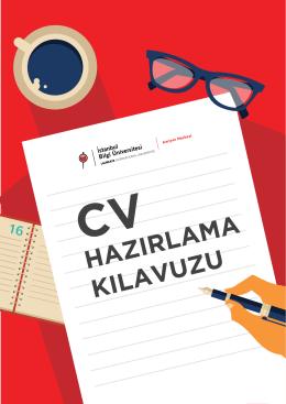 CV Kılavuzu - BİLGİ Kariyer