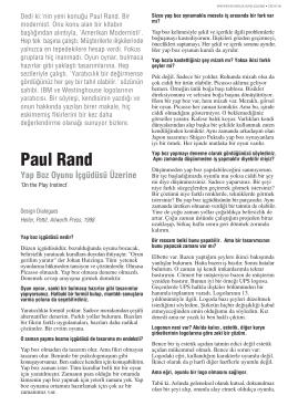 YAYIN Paul Rand Dedi ki / Sayı: 06