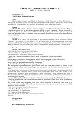 Türkiye Muay Thai Federasyonu