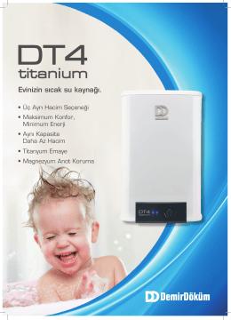 DT4 Termosifon Broşür