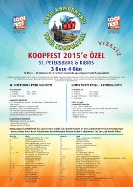 KOOPFEST 2015`e ÖZEL