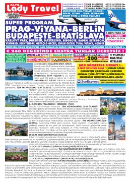 ORTA AVRUPA 23-30 Ocak IZM XQ