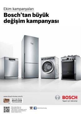 Bosch`tan büyük değişim kampanyası