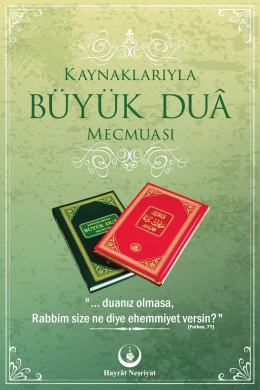 büyük dua kitabı reklamı