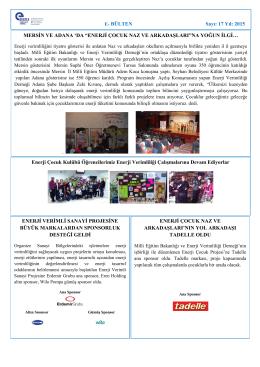 Mart 2015 - Enerji Verimliliği Derneği